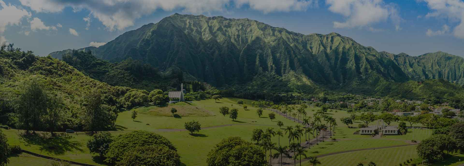 Valley of the Temples Memorial Park - Kaneohe, HI