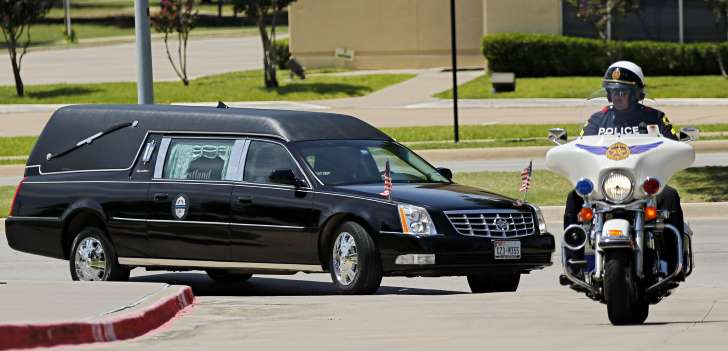 dallas police officers slain funeral service july 2016