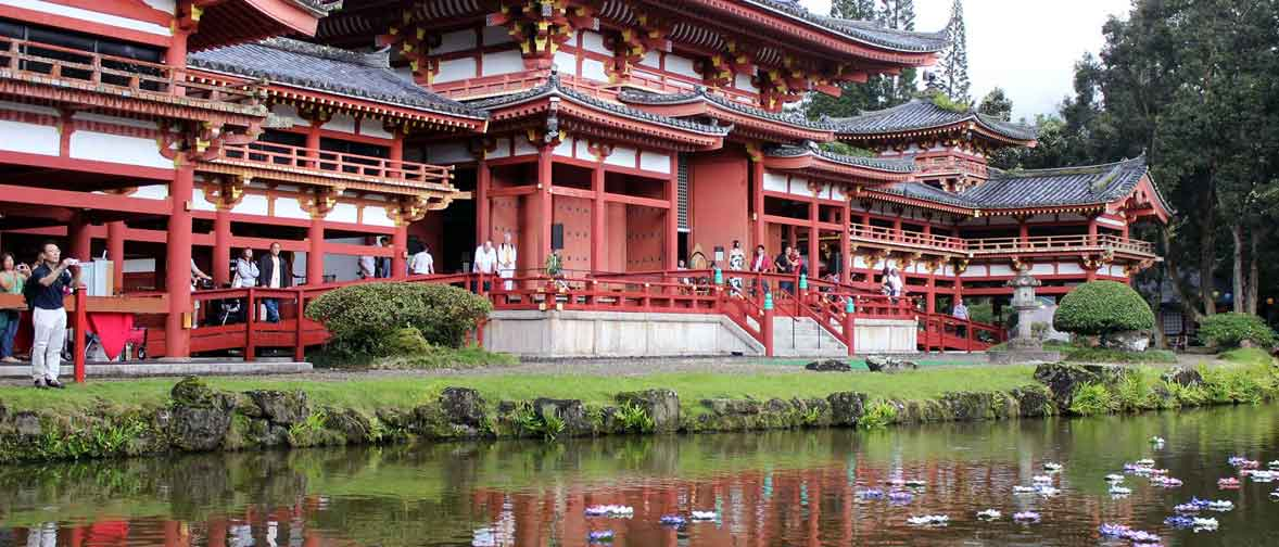 byodo-in hawaii obon japanese festival buddhism cemetery